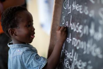 Educação de qualidade é o objetivo de número 4 dos Objetivos de Desenvolvimento Sustentável. Foto: Unicef Serra Leoa/2015/Indrias G Kassaye