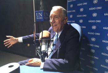 Marcelo Rebelo de Sousa. Foto: Rádio ONU