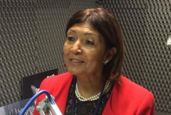 Maria Helena Semedo. Foto: Rádio ONU