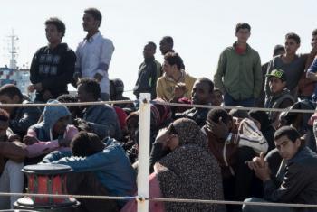 O número de refugiados e migrantes tentando deixar o Egito de forma irregular vem aumentando.Foto: ONU/Patrick Russo