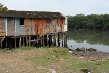 20% dos latino-americanos nao contam com saneamento melhorado. Foto: Banco Mundial