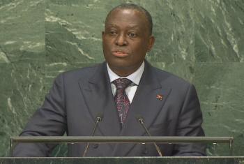 Manuel Vicente. Foto: Reprodução vídeo Webcast ONU