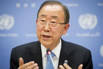 Secretário-geral da ONU, Ban Ki-moon. Foto: ONU/Rick Bajornas