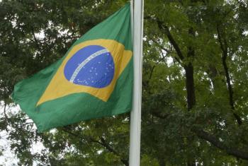 Bandeira do Brasil. Foto: ONU/Loey Felipe