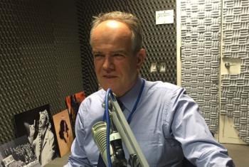 Etienne Krug em entrevista à Rádio ONU. Foto: Rádio ONU