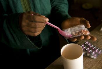 Uso excessivo de medicamentos está causando resistência antimicrobiana.Foto: Banco Mundial/Arne Hoel