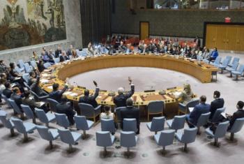 Sessão no Conselho de Segurança. Foto:ONU/Manuel Elias (arquivo)