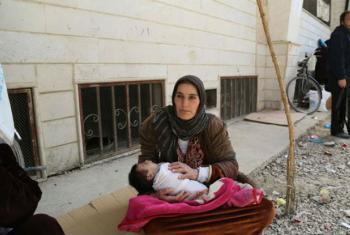 Vacinação contribui para controle de hepatite B. Foto: PMA-WFP/Hussam Al Saleh