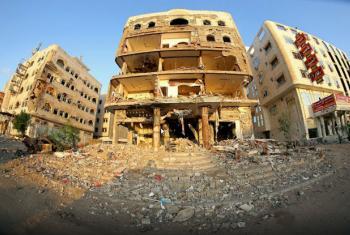 Distrito de Dar Sa'ad, em Aden, no Iémen. Foto: PMA/Ammar Bamatraf
