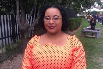 Janice da Silva. Foto: Rádio ONU