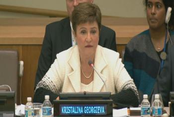 Kristalina Georgieva. Imagem: Reprodução vídeo