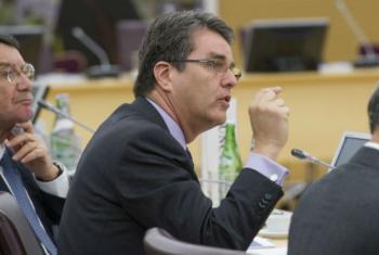 Diretor-geral da Organização Mundial do Comércio, OMC, Roberto Azevêdo. Foto: OMC