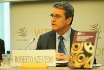 Roberto Azevêdo. Foto: OMC/Studio Casagrande