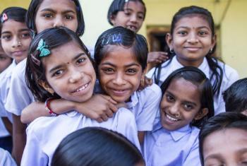 O relatório do Unfpa foca nos direitos das meninas do mundo todo. Foto: Unicef/Dhiraj Singh