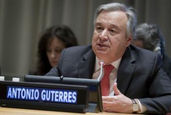 António Guterres. Foto: ONU/Manuel Elias