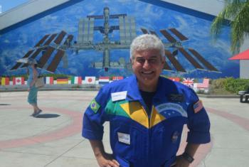 Astronauta Marcos Pontes. Foto: Arquivo pessoal