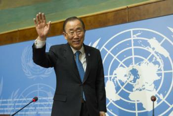 Ban Ki-moon está na Europa. Foto: ONU/Rick Bajornas