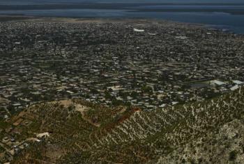 Gonaives, no Haiti. Foto: Minustah/Logan Abassi