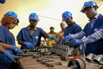 Industrialização no continente africano é prioridade para Carlos Lopes. Foto: ONU/Abdul Fatai