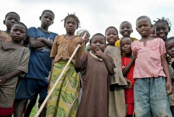 Crianças na República Centro-Africana. Foto: ONU/Catianne Tijerina