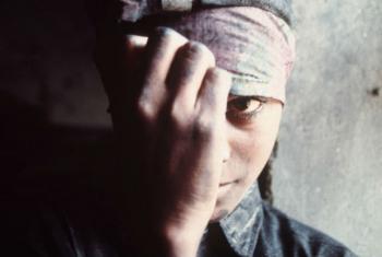 Combate ao tráfico humano. Foto: OIT/A. Khemka