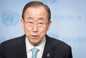 Secretário-geral da ONU, Ban Ki-moon. Foto: ONU//Mark Garten (arquivo)
