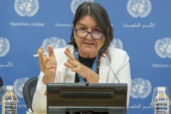 Hilal Elver. Foto: ONU/Cia Pak