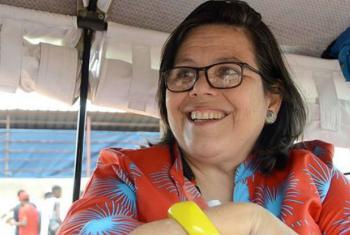 Márcia de Castro. Foto: Emídio Josine