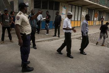 As eleições no Haiti decorreram de forma pacífica. Foto: ONU Minustah/Logan Abassi