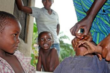 Eliminação da poliomielite em Cabo Verde. Foto: Unicef/Cornelia Walther