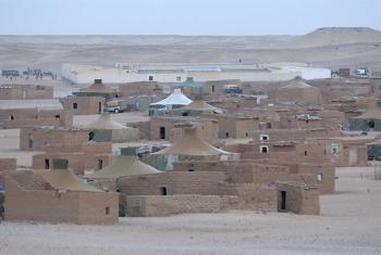 Acampamento de refugiados no Saara Ocidental. Foto: ONU/Evan Schneider