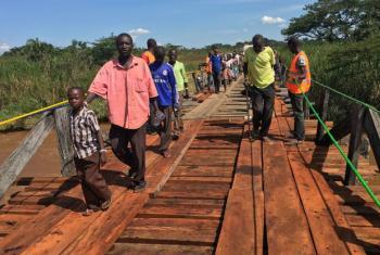 Refugiados sul-sudaneses. Foto: Acnur/Gloria Ramazani