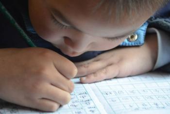 A UPU afirma que nas competições passadas as crianças demonstraram um grande interesse em manifestar suas opiniões sobre os maiores desafios do mundo.Foto: Unesco