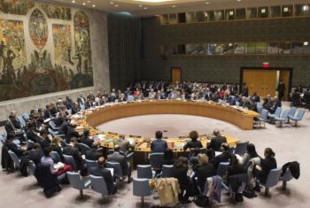 Conselho de Segurança reunido nesta segunda-feita, 7 de novembro. Foto: ONU/Eskinder Debebe