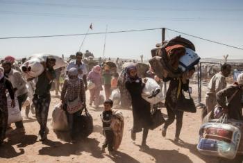 Os dados do Acnur revelam que os países em desenvolvimento ou mais pobres abrigam 84% dos refugiados em todo o mundo. Foto: Acnur/Ivor Prickett