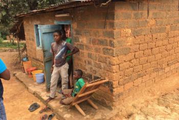 Jovens deslocados em Mindouli, na região de Pool. Foto: Acnur/Brice Degla