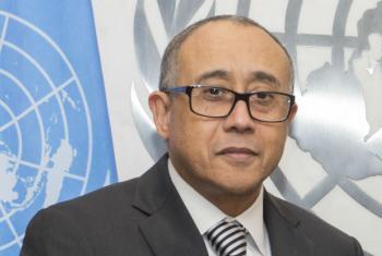 José Luis Rocha. Foto: ONU/Eskinder Debebe