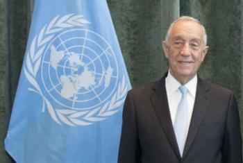 O presidente de Portugal, Marcelo Rebelo de Sousa. Foto: ONU/Mark Garten