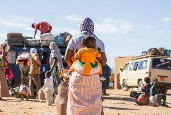 Na África, 2% dos migrantes passaram a viver em outros países da região e a maior parte da migração ocorre entre países vizinhos. Foto: OIM