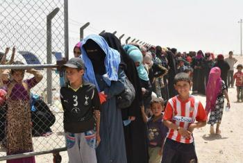 Refugiados sírios e iraquianos. Foto: OIM