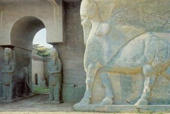 Site arqueológico de Nimrud, no Iraque. Foto: Unesco