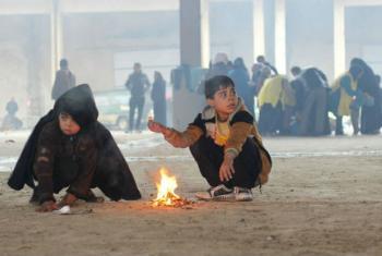 União Europeia doa mais US$ 7,3 milhões para ajudar crianças no Iraque. Foto: Unicef/Al-Issa