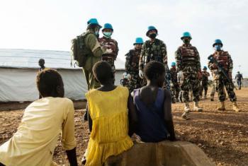 Tropas das Nações Unidas no Sudão do Sul. Foto: Unmiss