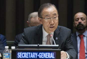 Secretário-geral da ONU, Ban Ki-moon. Foto: ONU/Eskinder Debebe