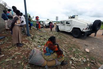 Civis deslocados no Sudão do Sul. Foto: ONU/Eric Kanalstein