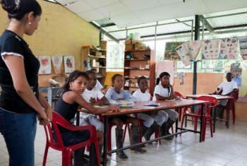 O Equador abriga mais de 60 mil refugiados, sendo que 95% deles são colombianos. Foto: Acnur/Jason Tanner