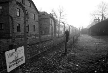 Campo de concentração nazista de Auschwitz-Birkenau, na Polônia. Foto: ONU/Evan Schneider