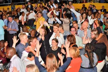 Participantes do Fórum Mundial de Dados na Cidade do Cabo, na África do Sul. Foto: Mbongiseni Mndebele