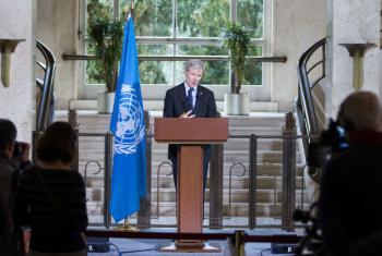 O conselheiro-sênior da ONU para a Síria, Jan Egeland. Foto: ONU/Pierre Albouy