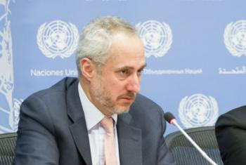 O porta-voz do secretário-geral da ONU, Stephane Dujarric. Foto: ONU/Rick Bajornas